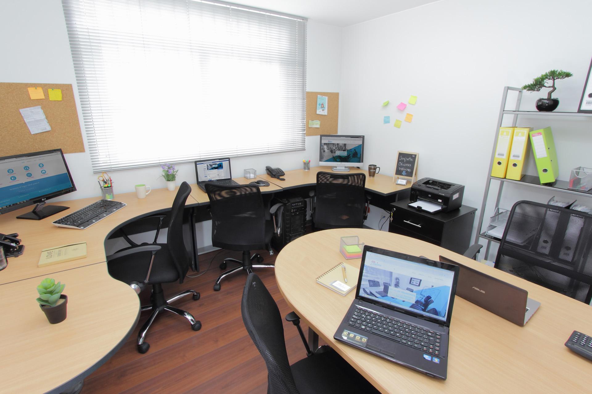 Alquiler de oficinas privadas y compartidas co labora for Alquiler de oficinas